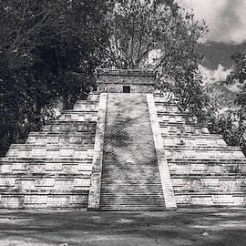 Mesoamerican Pyramid by Max Huber