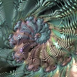 Metallic swirl by Ronni Dewey