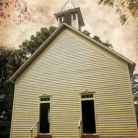 Methodist Church Cades Cove 1 by Judy Vincent