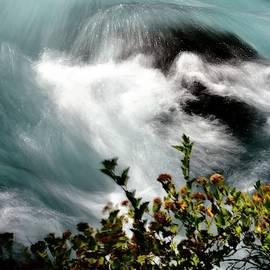 Metolius River Cascade by Jerry Sodorff
