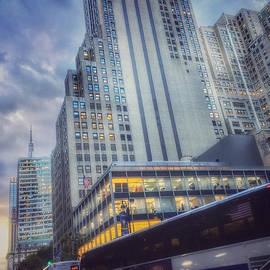 Metropolis - New York NY by Miriam Danar
