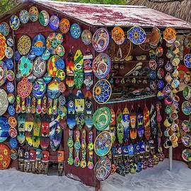 Mexican Beach Hut by Lynne Pedlar
