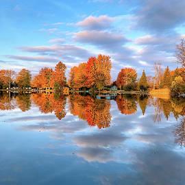 Michigan Autumn Reflections by Jill Love Photo Art