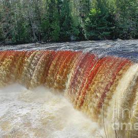 Michigan Waterfalls Upper Tahquamenon -2985 by Norris Seward