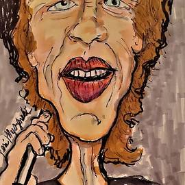 Mick Jagger The Rolling Stones by Geraldine Myszenski