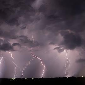 Mid July Nebraska Lightning 020 by Dale Kaminski