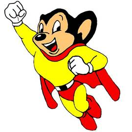 Mighty Mouse Small But Mighty by Movie Poster Prints