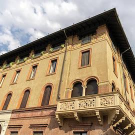 Milans Marvelous Architecture - an Elegant Renaissance Corner  by Georgia Mizuleva