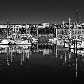 Milford Haven Marina Monochrome by Steve Purnell