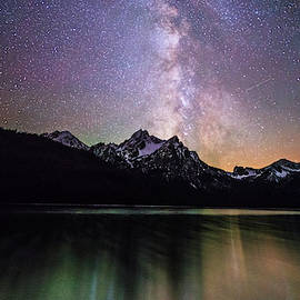 Milky way explosion by Vishwanath Bhat