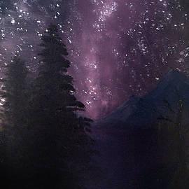 Milky Way Lake by Chance Kafka