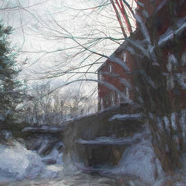 Jeff Folger - Mill on Brown River in Jericho Vermont