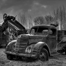 Mining In Monochrome  by Michael Morse