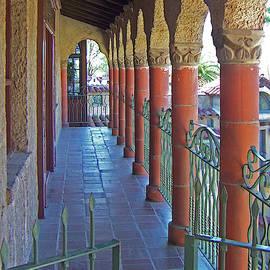 Mission Inn Riverside Colonnade by Ben and Raisa Gertsberg