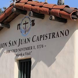 Mission San Juan Capistrano California by Michael Hoard