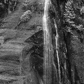 Misty Fjord Small Falls by Peter J Sucy