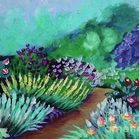 Misty Garden Path by Jacqueline Athmann