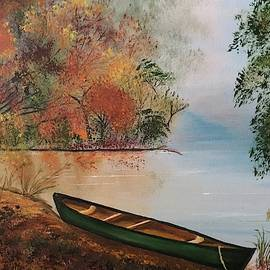 Misty Morning at the Lake by Inez Ellen Titchenal