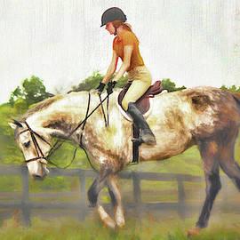 Misty Morning Ride by Ola Allen
