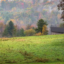 Bill Wakeley - Misty New England Autumn