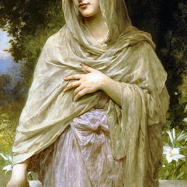 Modesty 1902 by William Bouguereau