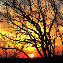 Mohican Sunset  by Susan Hope Finley