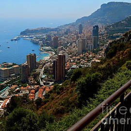 Monaco from Above by Peter Horrocks