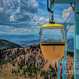 Monarch Mountain Gondola by Janice Pariza