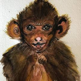 Monkey Baby  by Marcia Breznay
