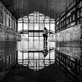 Monochrome Asbury Park Casino by Randy Scherkenbach