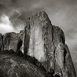 Monochrome Monolith by Rikk Flohr