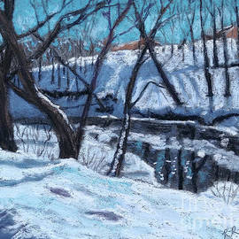 Menomonee River Afternoon by Renee Couture
