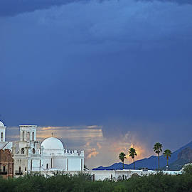 Monsoon Skies over the Mission by Chance Kafka