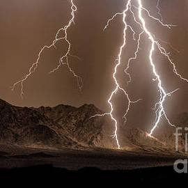 Monsoonal Lightning by Lisa Manifold
