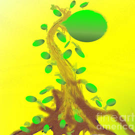 Monster Tree Plant by Belinda Threeths