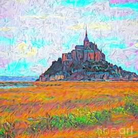 Mont St Michel Impasto by Jack Torcello