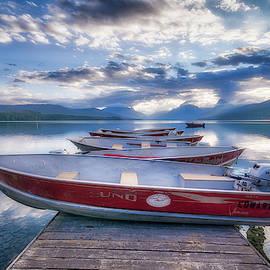 Montana Boats by Spencer McDonald