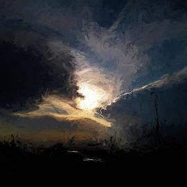 Montana Gathering Storm by Aliceann Carlton