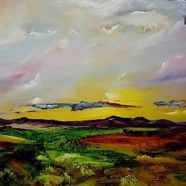 Montana Summer Storms        5519 by Cheryl Nancy Ann Gordon