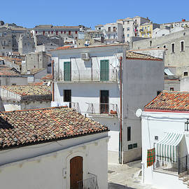 Monte Sant'Angelo Historic Town by Aicy Karbstein