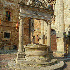 Montepulciano Well by Norma Brandsberg