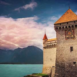 Montreux Switzerland Chillon Castle  by Carol Japp