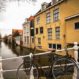 Moody Morning in Delft by Eva Lechner