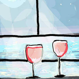 Moonlight and Wine by Kathy Barney