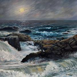 Moonlight On The Back Shore by Eileen Patten Oliver