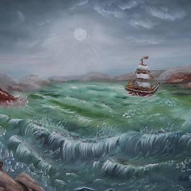 Moonlight Sail by Irene Clarke
