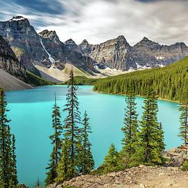 Moraine Blue Lake Banff Mountain Landscape Canada by Pierre Leclerc Photography