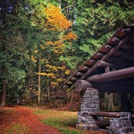 Moran State Park Trail by Jerry Abbott