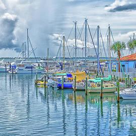 Morning At The Marina by Jo Ann Gregg