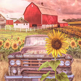 Morning Country Colors by Debra and Dave Vanderlaan